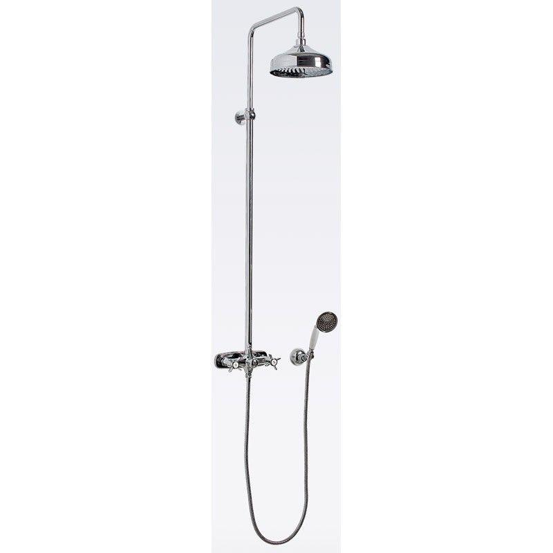 TAKDUSCHPAKET SVEDBERGS ROUND 150 C/C - Duschblandare - Blandare för badrum - Badrum