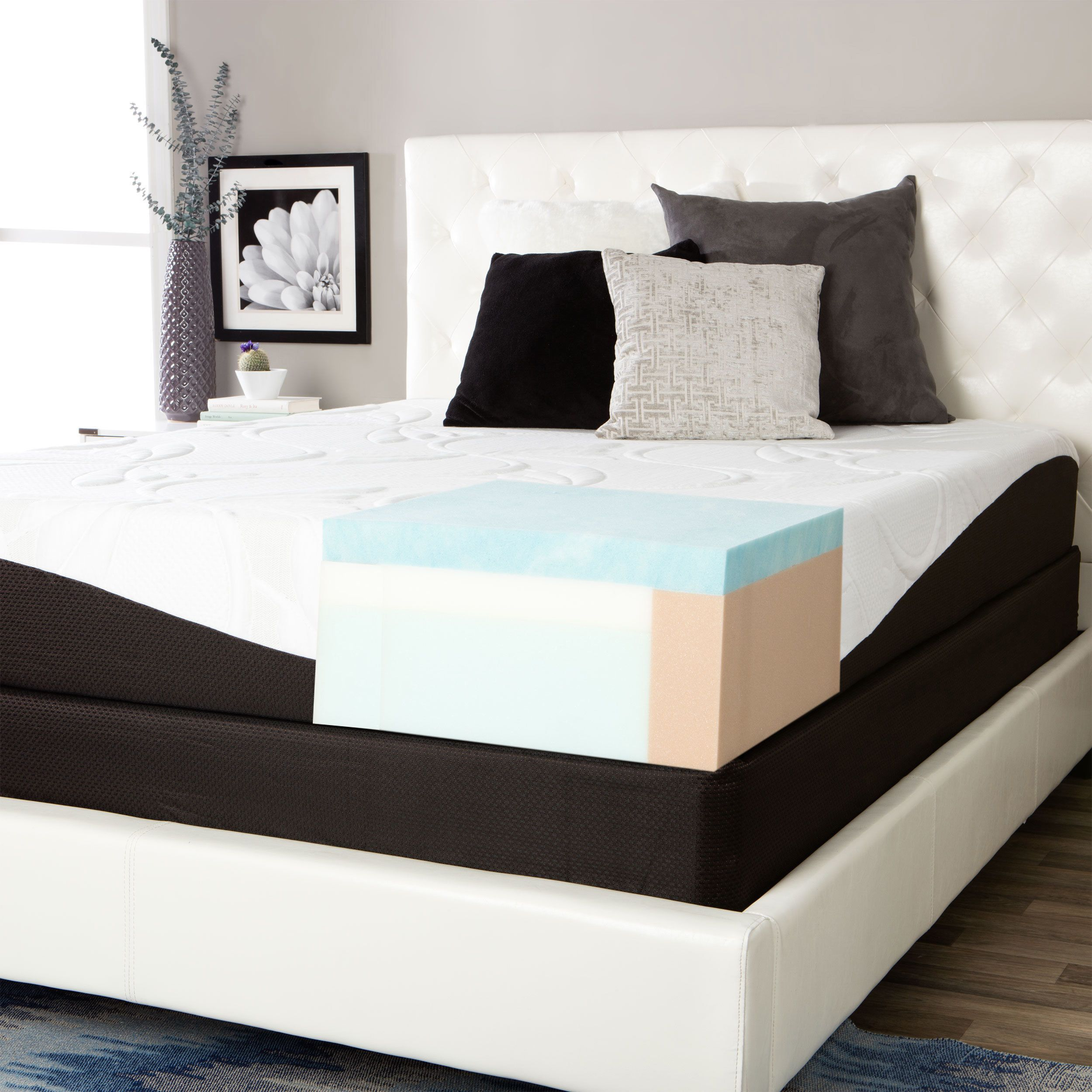 Comforpedic From Beautyrest Choose Your Comfort 10 Inch Gel Memory