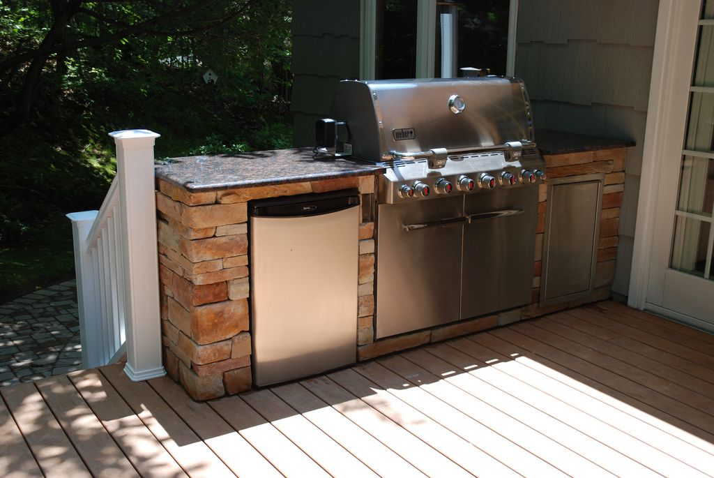 Weber Grill Island Outdoor Kitchen Design Grill Island Built In Grill