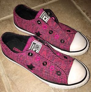 Girls Converse All Stars Slip On Shoes