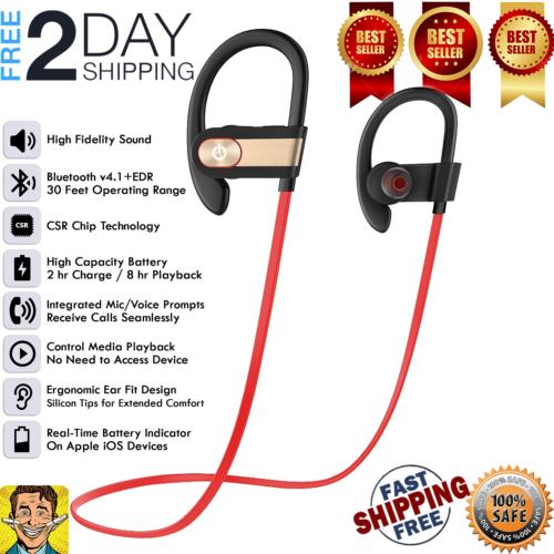 Waterproof Bluetooth Earbuds Beats Sports Wireless Headphones In Ear Headset New Wireless Waterproof Bluetooth Headph Earbuds Headphones Bluetooth Earbuds