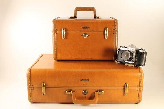 Vintage Samsonite Train Case Luggage Style 4612 by Circa810, $40.00