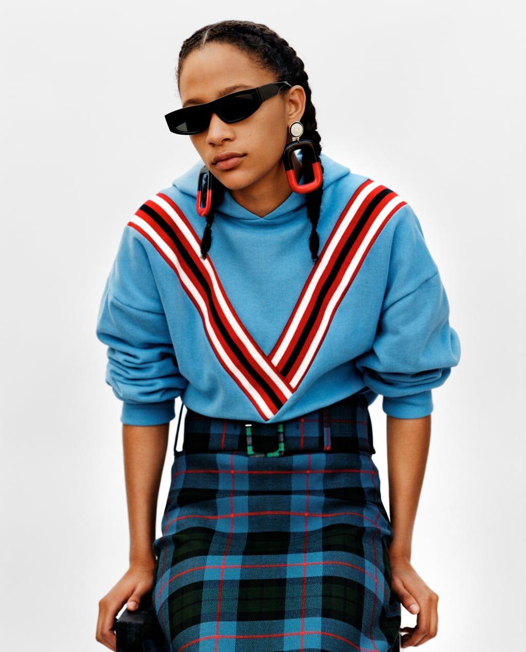 carino economico ampia selezione Regno Unito Immagine 1 di GONNA A QUADRI di Zara   Spring Fashion ...