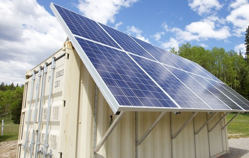 Image Result For Shipping Container Solar Best Solar Panels Solar Panels Solar