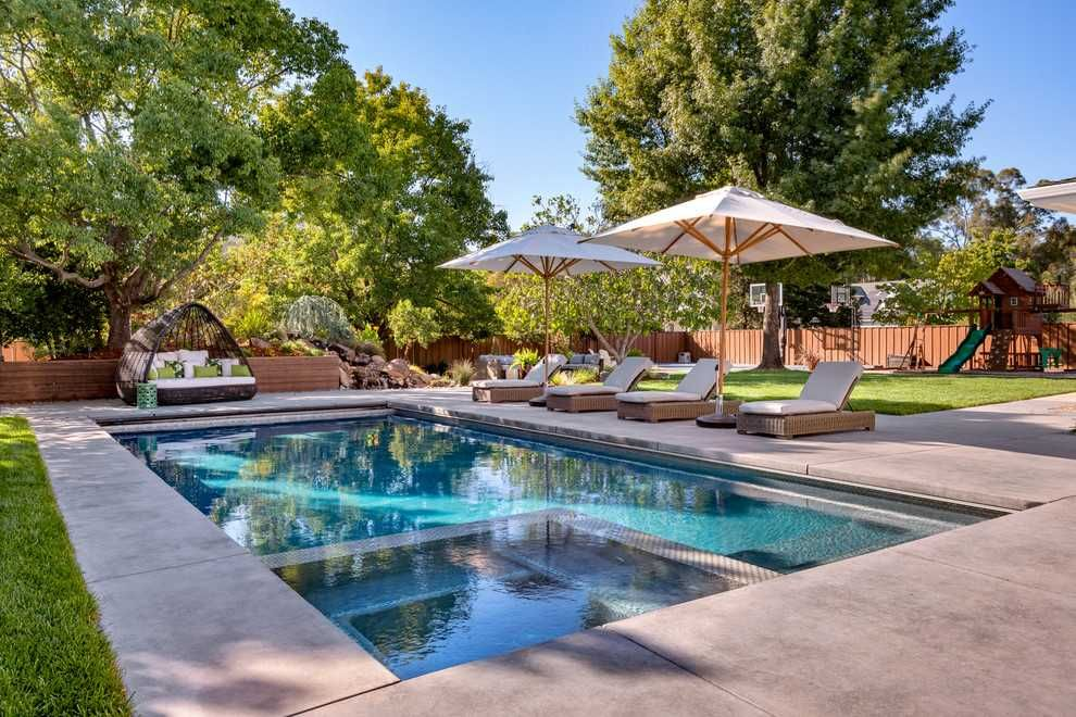 20 Sensational Farmhouse Swimming Pool Designs You Must See In 2020 Swimming Pools Outdoor Pool Pool Designs