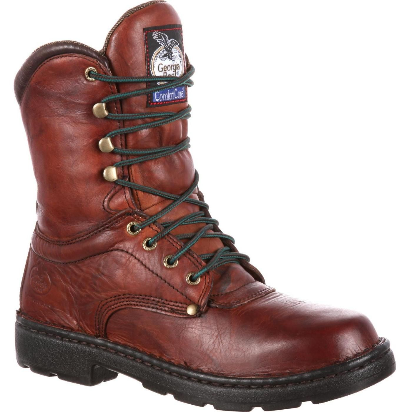 Men S Georgia Boots Eagle Light Work Boots In 2020 Light Work Boots Georgia Boots Boots Men