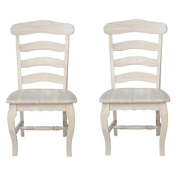 29++ Unfinished farmhouse chairs type