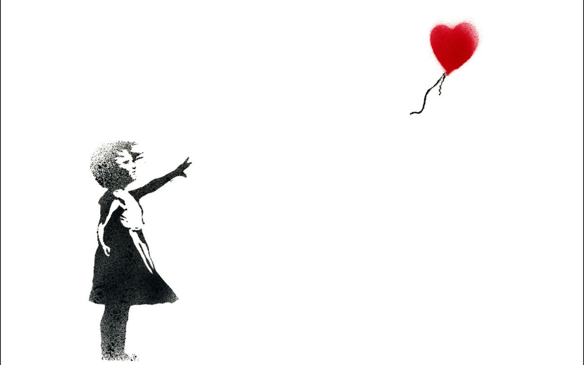少女と風船 アート バンクシーbanksy Pcデスクトップ壁紙 画像 作品まとめ Naver まとめ Graffiti Pictures Banksy Wallpaper