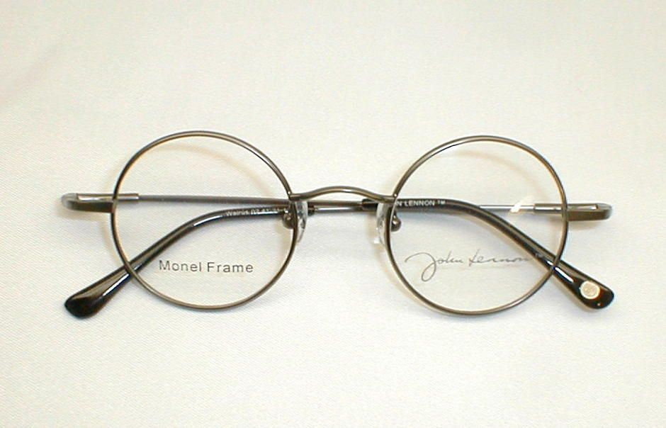 Antique Gold Silver John Lennon Collection Eyewear JLS260F | a ...