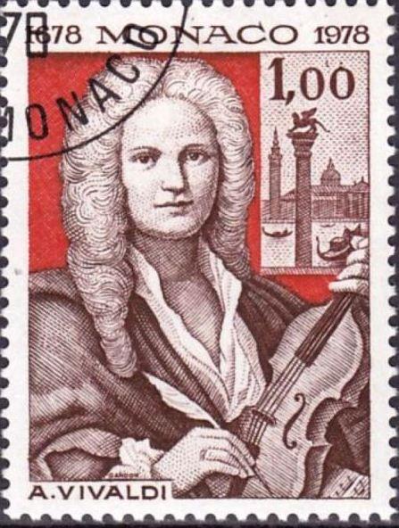 Musicians and Composers on stamps - Stamp Community Forum   Antonio Vivaldi