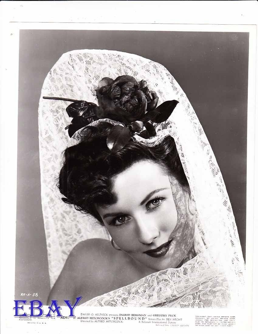 Rhonda Fleming Spellbound VINTAGE Photo ...