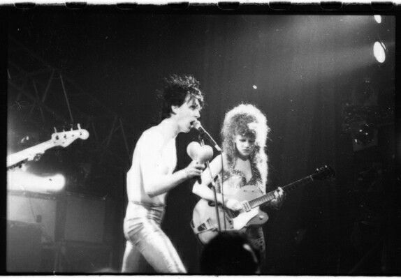 The Cramps at the Empire Theatre, Edinburgh (23rd March 1986) ©Graham MacIndoe