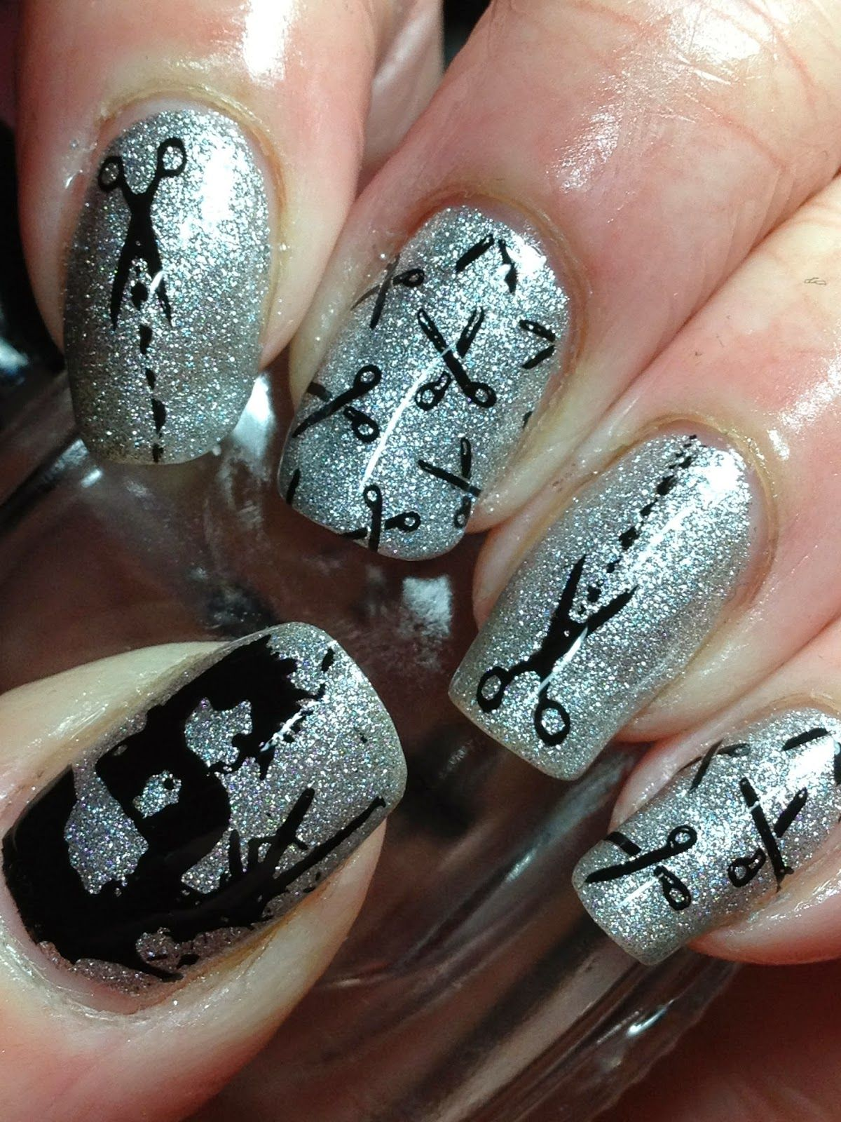 63 Best Eye-Catching Glitter Nails Designs So Perfect to