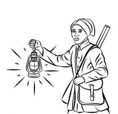 Printable Harriet Tubman Coloring Pages | Coloring Me | Charlotte ...