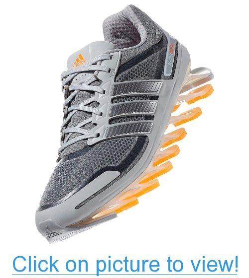 Adidas Springblade Techfit G98811 Grey/Silver/Orange Zest Razor Men\u0027s  Running Shoes #Adidas