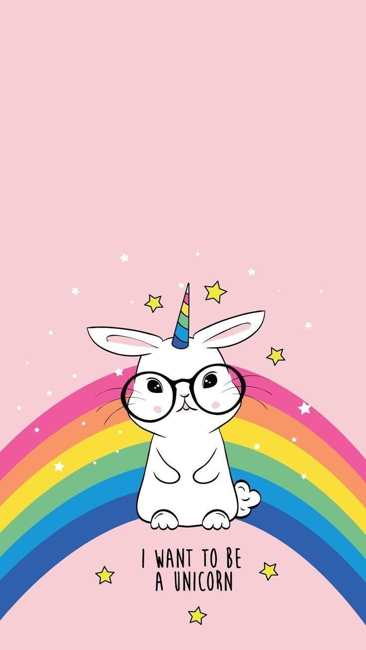 I Want To Be A Unicorn Cute Wallpaper Unicorn Wallpaper Cute Unicorn Wallpaper Iphone Wallpaper Cat