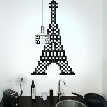 paris tour eiffel autres pixel art comment dessiner art. Black Bedroom Furniture Sets. Home Design Ideas