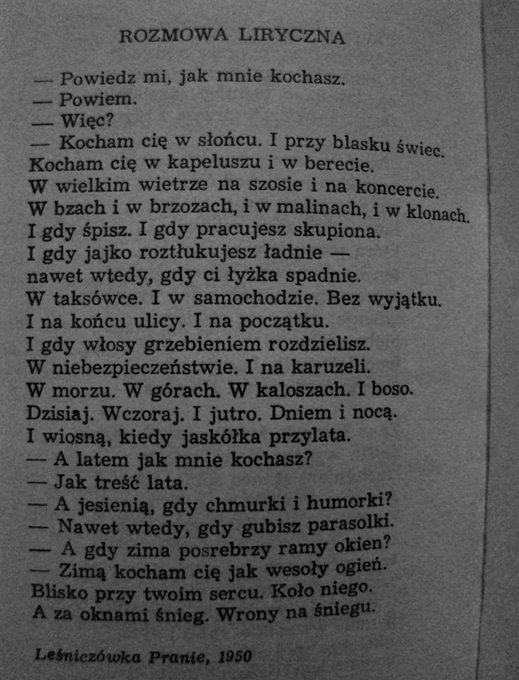 Konstanty Ildefons Gałczyński Wiersze Prawdziwi