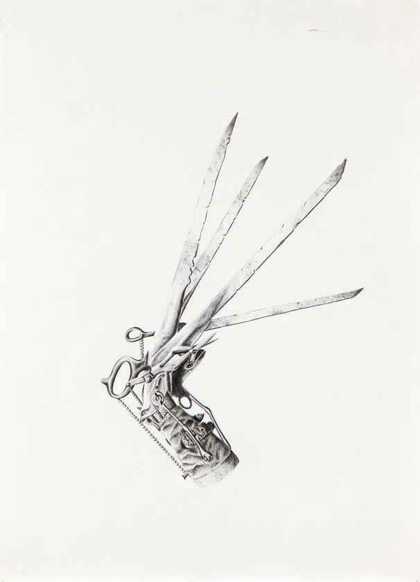 Edward Scissorhands Hand Drawing Tattoo Idea Edward Scissorhands