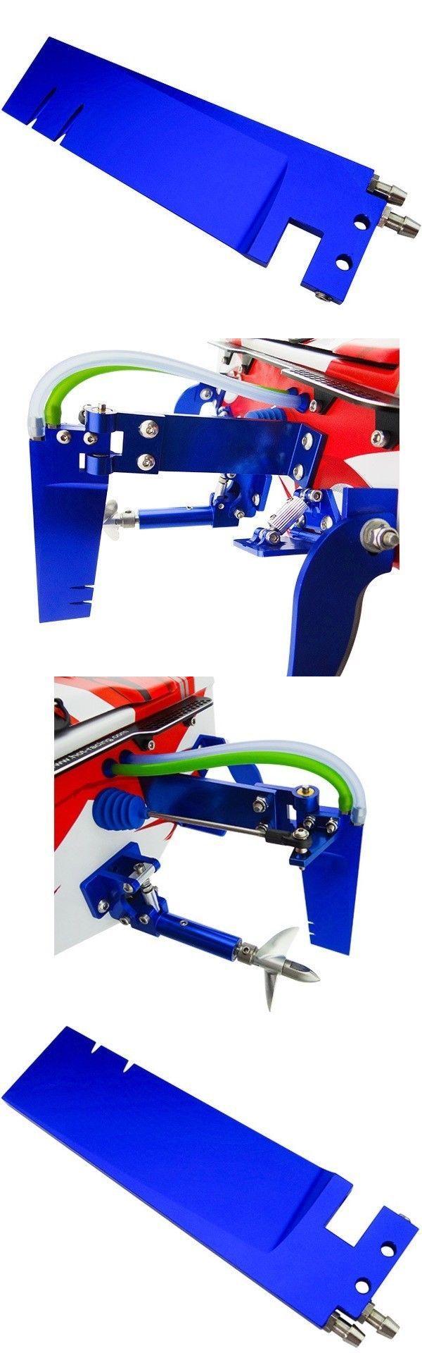 Hot Racing Aluminum Dual Rudder Pickup Blade Traxxas Spartan SPN48DR06