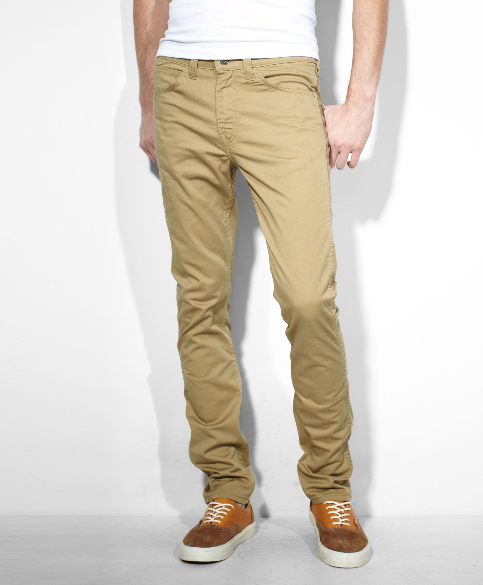 e640287bcb Levis 510™ Skinny Fit Line 8 Pants - Harvest Gold - Jeans