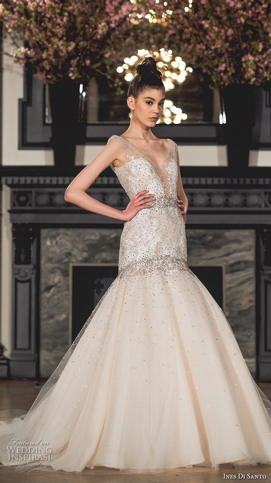 Ines di santo spring wedding dresses u ucmodern romanceud bridal