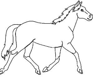 Dessin de cheval a imprimer dessin cheval imprimer et colorier pour les fans de chevaux - Coloriage de chevaux en ligne ...