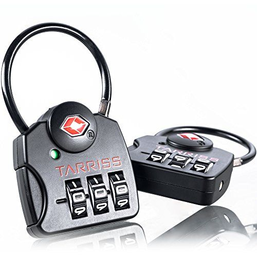 TSA Lock w/ SearchAlert by Tarriss, 2 Pack TSA Luggage Locks ...