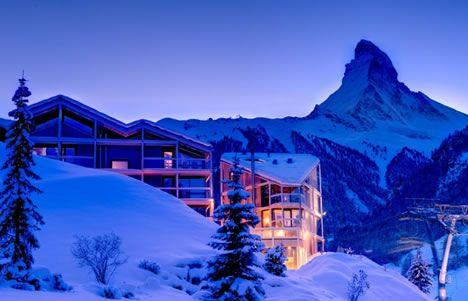 Zermatt switzerland skiing pinterest zermatt for Design hotel matterhorn focus