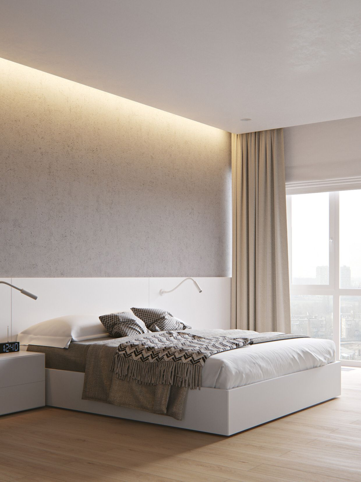 Pin by beingalmost on Bedroom in 2019 Modern minimalist