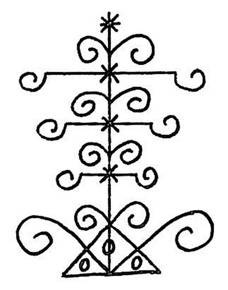 Voodoo Symbols For Their Gods Magic Emblems Pinterest Voodoo