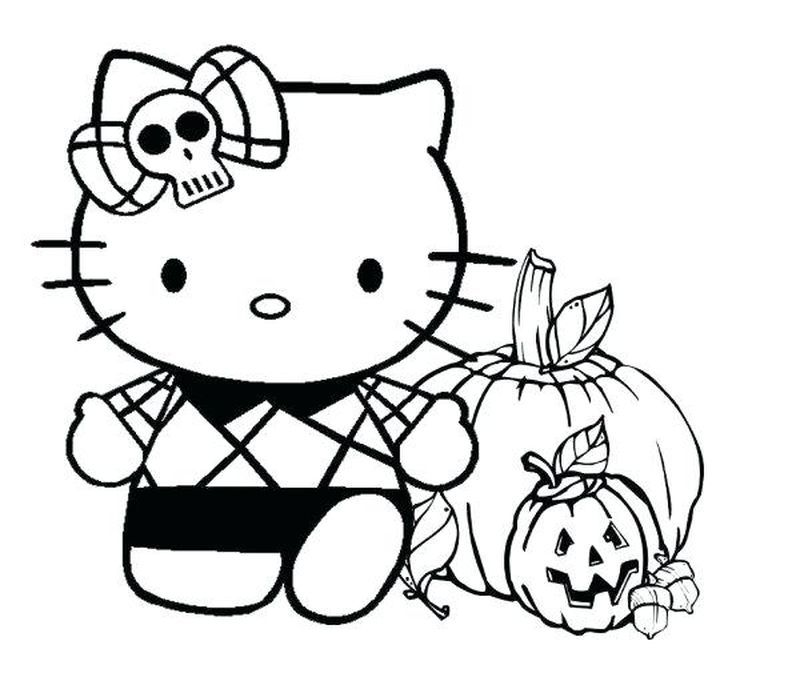 Cute Hello Kitty Coloring Pages Idea For Girl Free Coloring Sheets Hello Kitty Coloring Kitty Coloring Halloween Coloring Pages