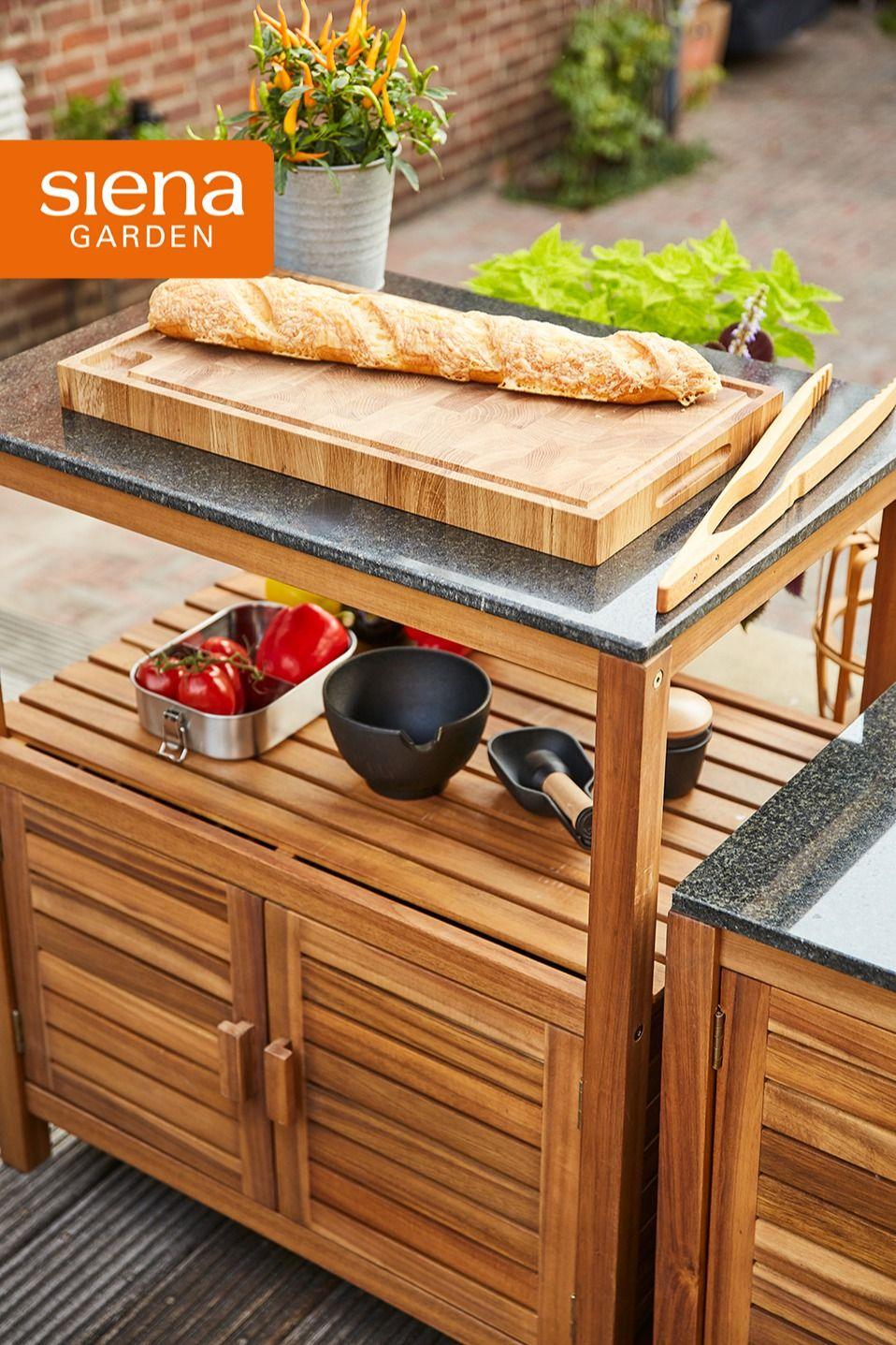 Kochen Im Freiem Riva Outdoor Kitchen In 2021 Gartenmobel Hochwertige Gartenmobel Mobel