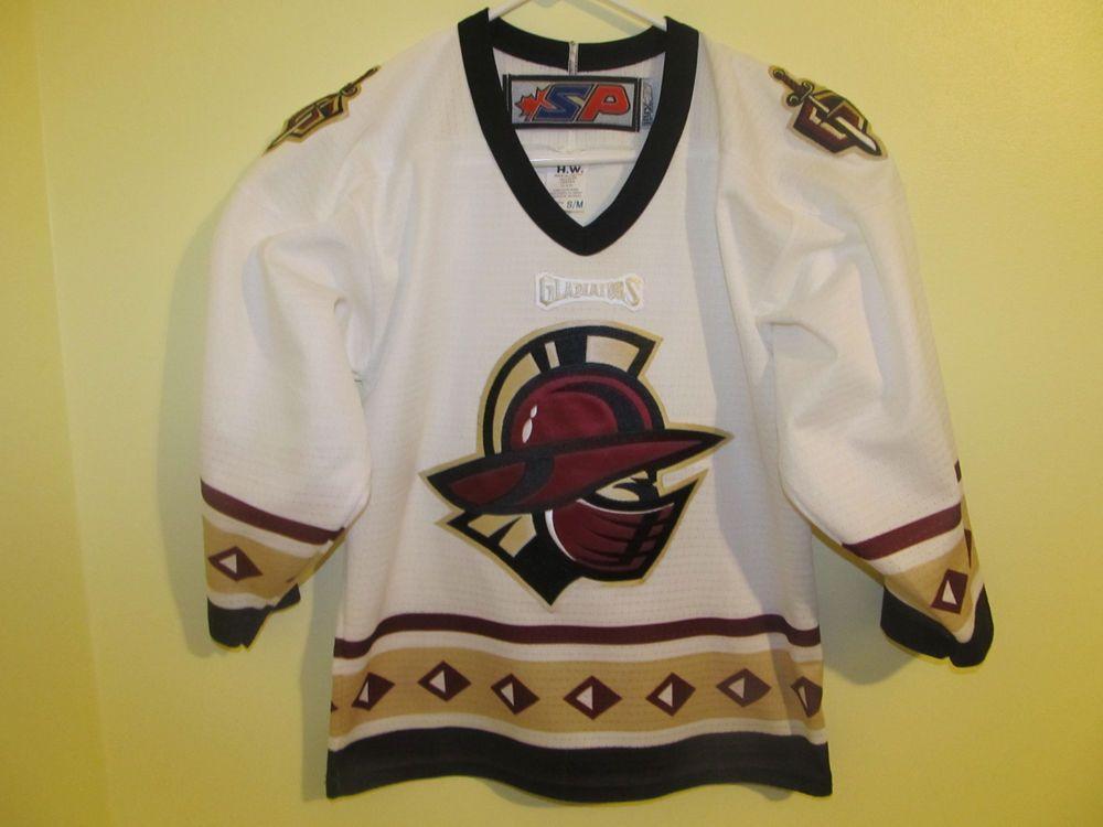 Gwinnett Gladiators Hockey Jersey Youth Large Xl Echl Hockey Jersey Jersey Oregon Ducks