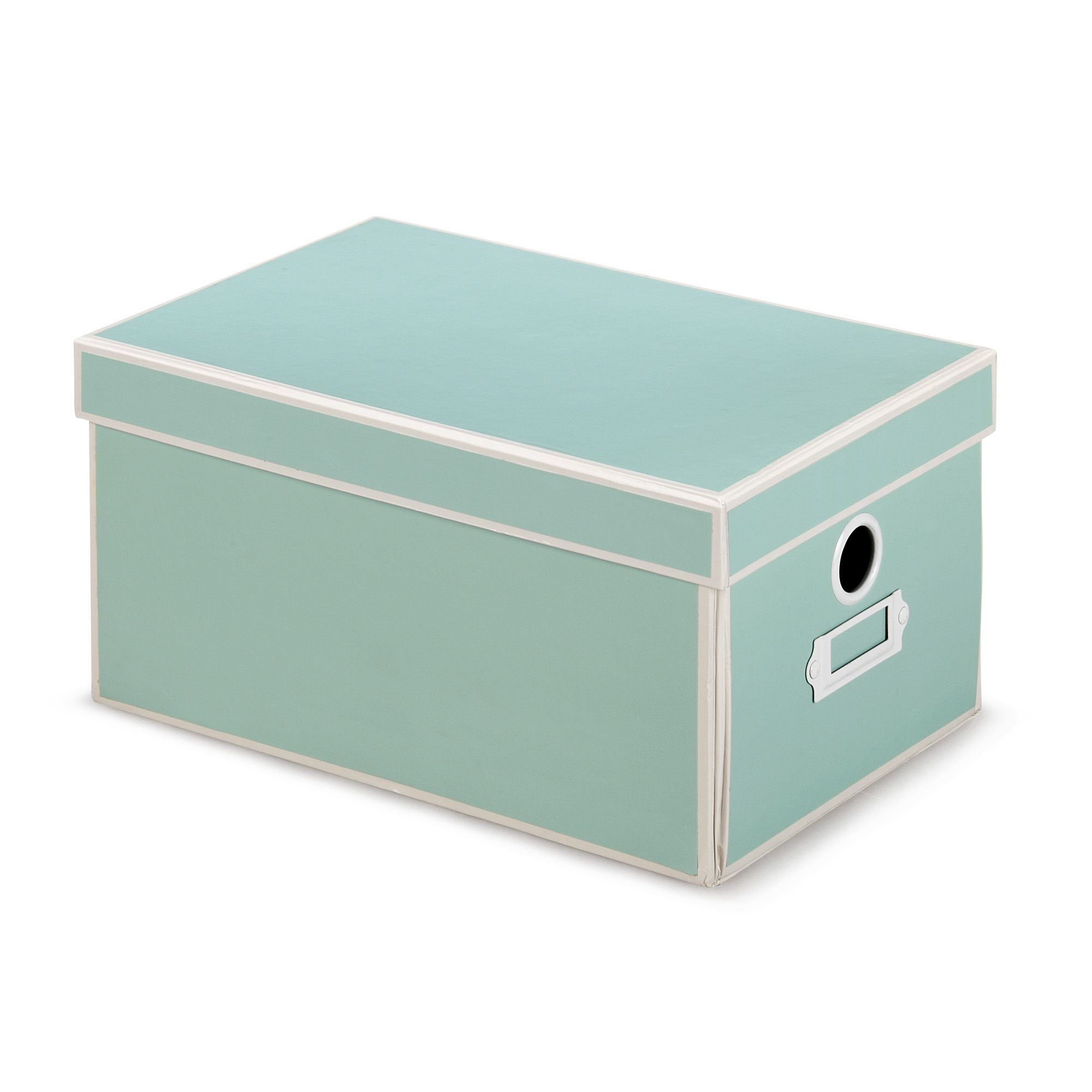 Boite de rangement petit modele Vert - Houston - Les boites en carton - Boîtes de rangement ...