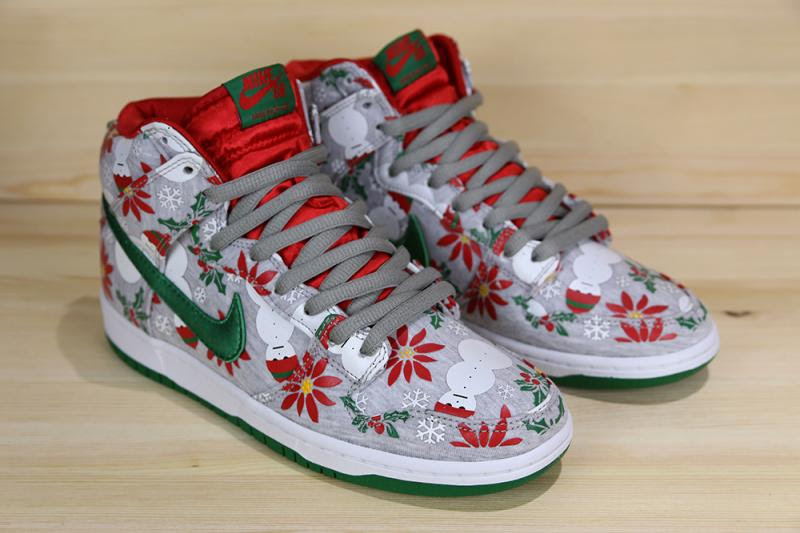 Christmas Sweater Sb Dunks 50