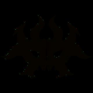 Guildsymbol Rakdos Large Png Png Image 320 320 Pixels Magic The Gathering The Gathering Pumpkin Stencil