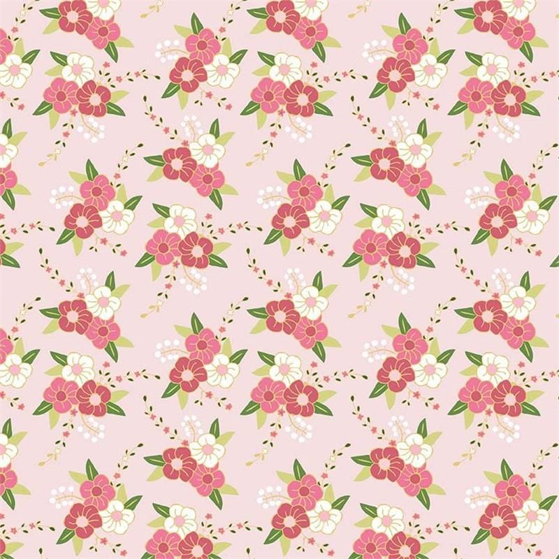 Fabric... Wonderland Floral in Pink by Melissa Mortensen for Riley Blake