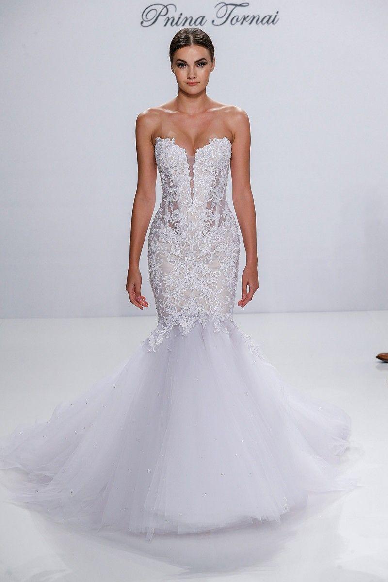 Pnina Tornai Fall 2017 Wedding Dresses | Hochzeitskleider und Hochzeiten