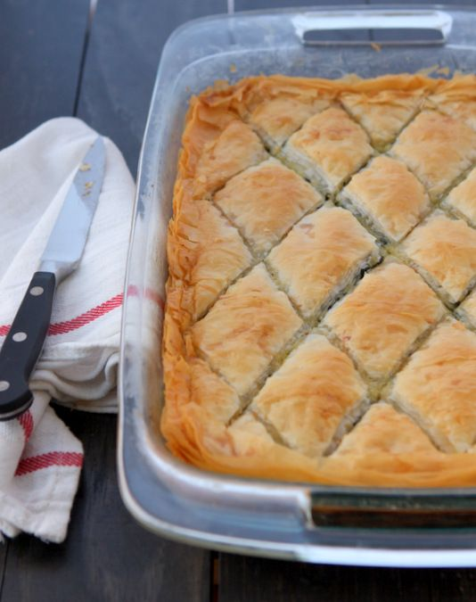 Classic spanakopita thekitchenpaper vegetarian pinterest classic spanakopita id use the directions but maybe not the entire recipe adjust it forumfinder Choice Image