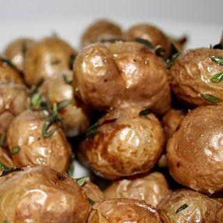 Pan roasted potatoes