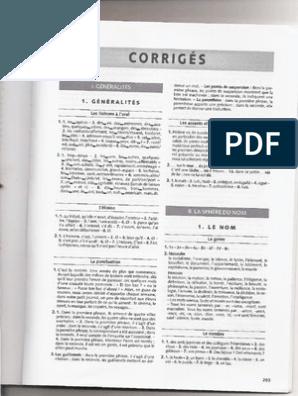 Exercices De Grammaire Expliquee Du Francais Niveau Intermediaire Pdf Grammaire Grammaire Progressive Du Francais Exercice Grammaire