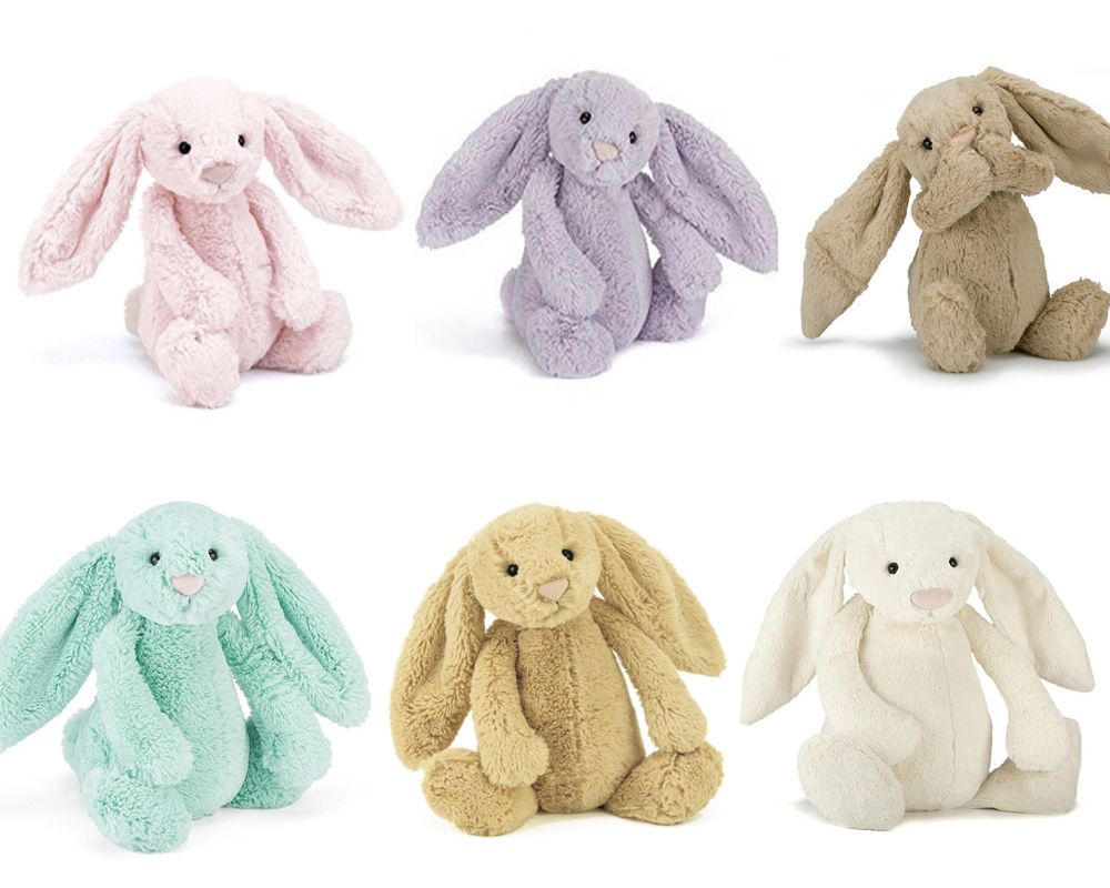 Different Size And Colours Jellycat Bashful Bunny Collectioins Easter Bunny Plush Rabbit Toys Bunny Plush