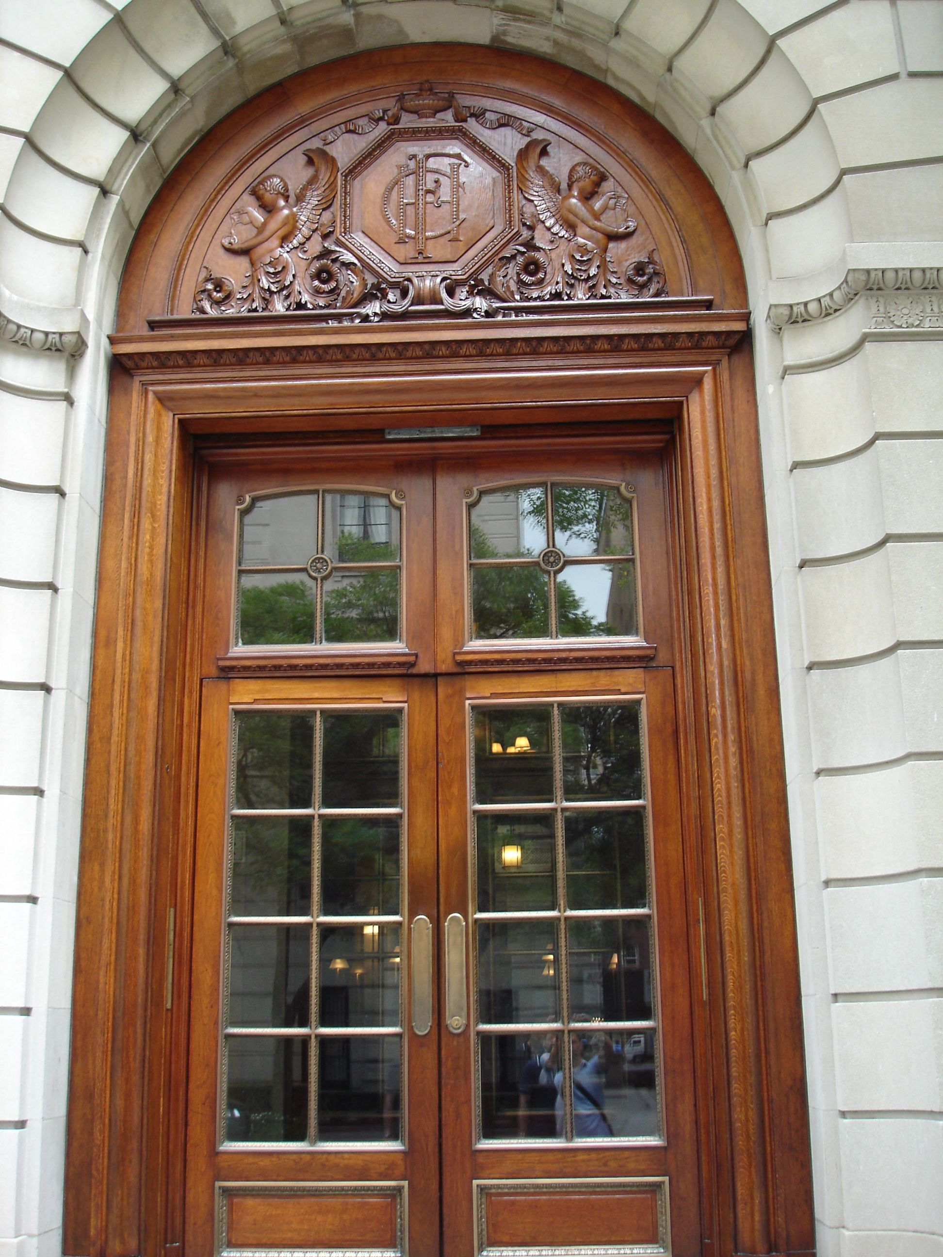 Nice Old Doors   1162117. Entrance The Frick Collection Nyc