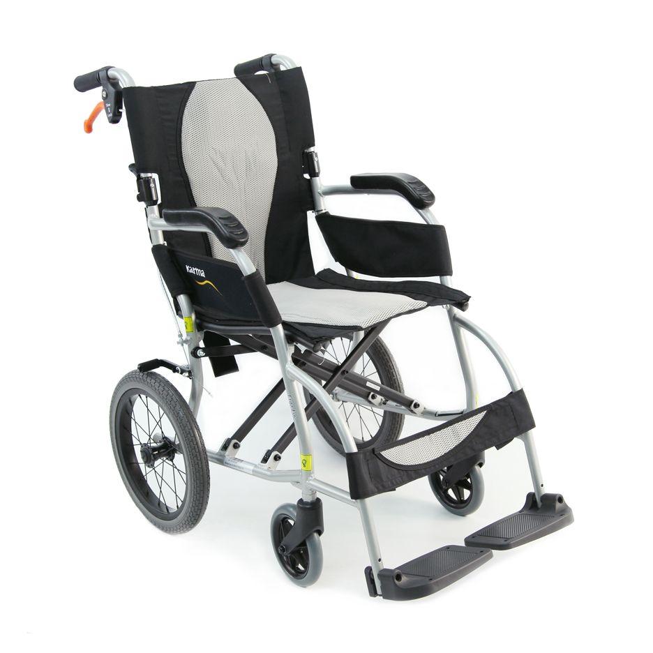 Ergo Lite Wheelchair S2501 Ultralight Transport Chair