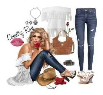 """""""💖"""" by tierra2611 ❤ liked on Polyvore featuring Lime Crime, J.Crew, Chicwish, Jules Smith, TIBI, Rebecca Minkoff, Tory Burch, Givenchy, Ariat and Jonathan Simkhai"""