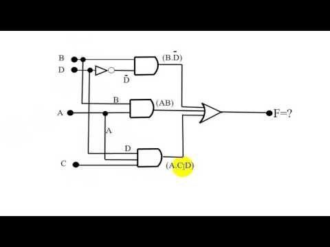 logic gates with circuit simplification bangla tutorial 03 rh pinterest co uk Diagram Electrical Circuit Parallel Circuit Diagram