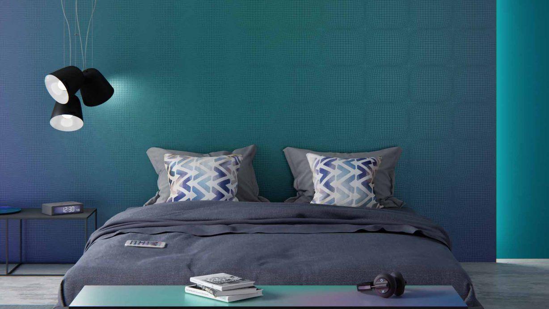 Reussir La Decoration D Une Chambre Bleu En 2020 Chambre Bleu