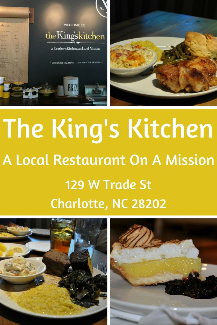 Chef Jim Noble S King S Kitchen Located Uptown In Charlotte Is A