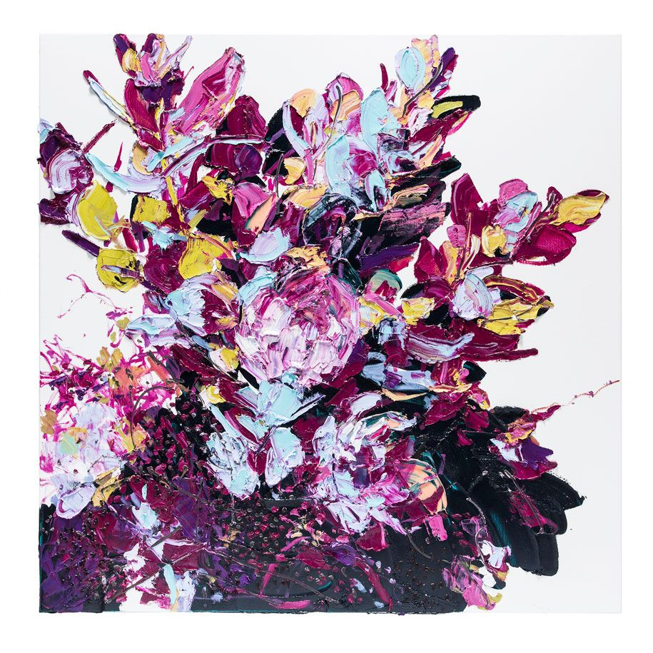 Alesandro Ljubicic And The Scent Of Painting Habitus Living Flower Art Floral Art Painting